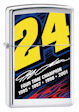 Jeff Gordon No. 24 4 Time Champ Zippo Lighter - HP Chrome - 24244 Zippo