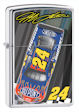 Jeff Gordon 24 Car Top View Zippo Lighter - HP Chrome - 24431 Zippo